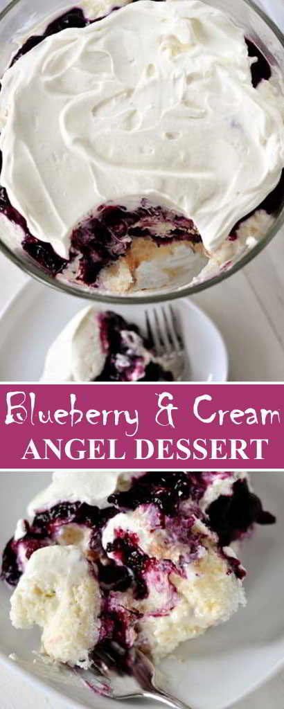 Blueberry-Cream-Angel-Dessert-Cake-Recipe